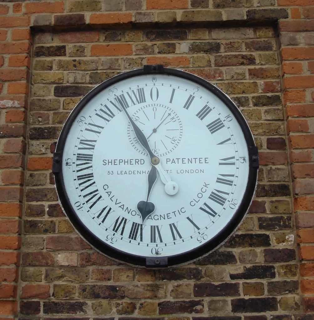 24-Hour Clock at Royal Observatory - London