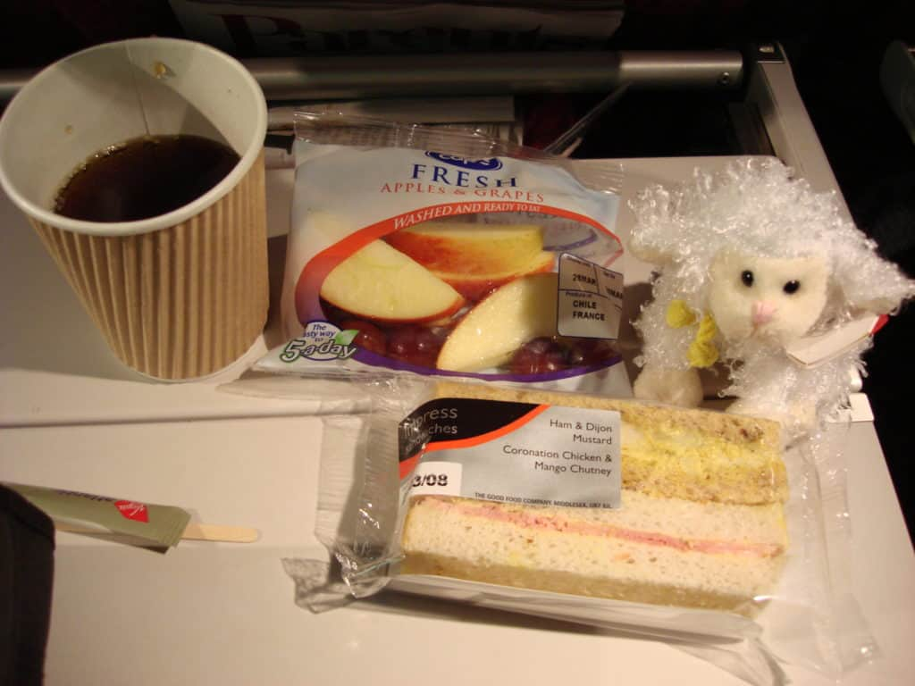 Snack Meal from London to LAX