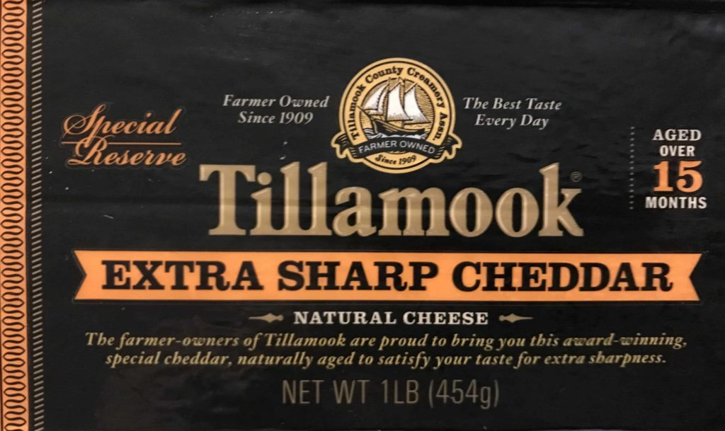 Tillamook Special Reserve cheese