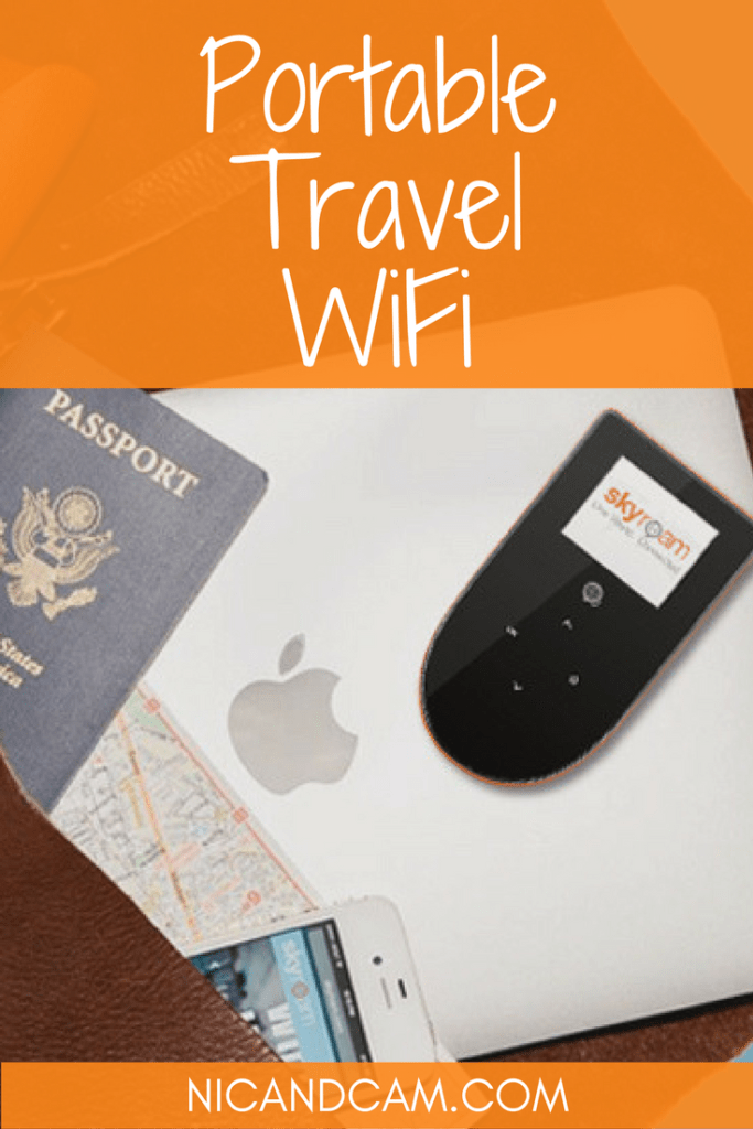 Pinterest - Portable Travel WiFi